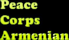 Armenian Peace Corps Course