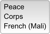 French Peace Corps Course