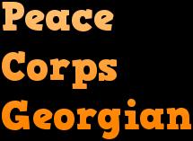 Georgian Peace Corps Course